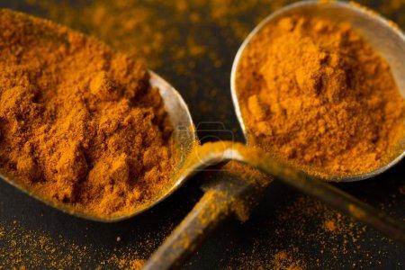 India curcuma spices