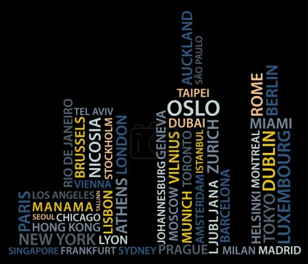 Town made from names of big cities