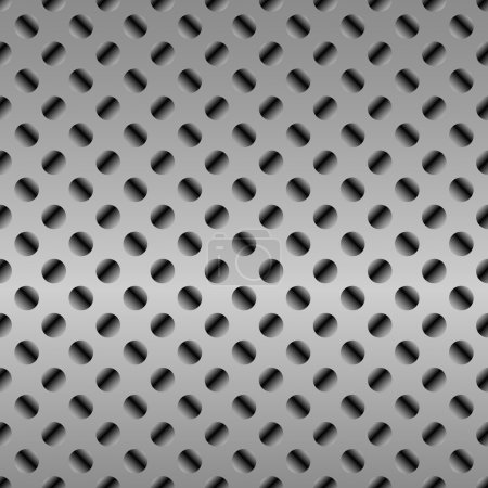Photo for Metal texture with some added highlights and reflections background - Royalty Free Image