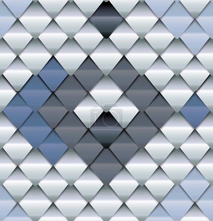 Illustration pour Modèle sans couture ressemblent à fond de peau de serpent - image libre de droit