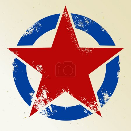 Photo for Five pointed star symbol - Royalty Free Image