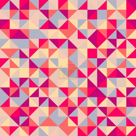 Photo for Seamless colorful background made from puzzles - Royalty Free Image