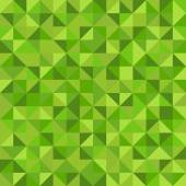 Seamless abstract pattern made from green triangles