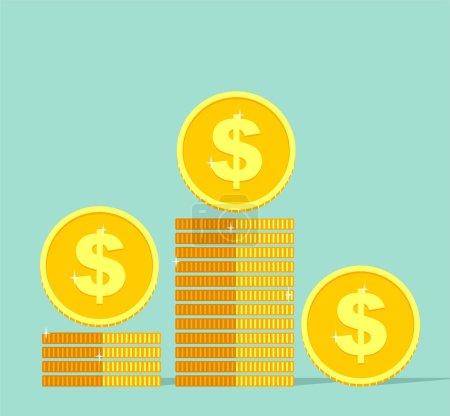 Illustration pour Icône de la finance vectorielle - image libre de droit