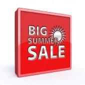 Letní prodej čtvercová ikona