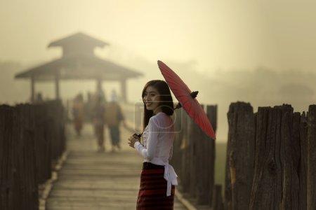 Smile of U Bein Bridge