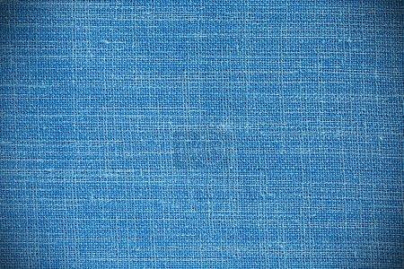 Volume vue de lumière bleu tissu fond