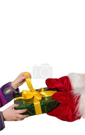 märchenhaftes Weihnachtsgeschenk, vertikal
