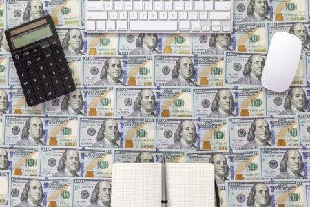 Arbeitsplatz des Geldmachers