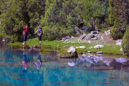 Pristine mountain lake