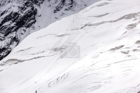 Steep Ice Slope and Mountain Climbing Expedition