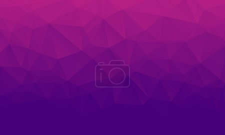 Shades of purple abstract polygonal geometric background. Low poly.
