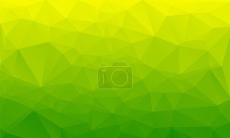 Shades of green abstract polygonal geometric background. Low poly.