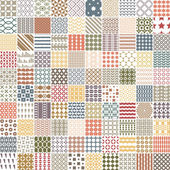 100 retro pattern Vector pattern Endless texture can be used for printing onto fabric paper or scrap booking wallpaper pattern fills web page background surface texture