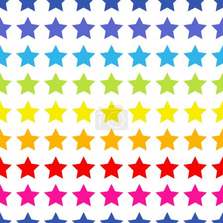 Illustration for Seamless Pattern with stars. - Royalty Free Image