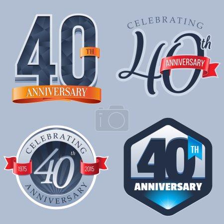 40 Years Anniversary Logo