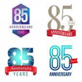 85 Years Anniversary Logo