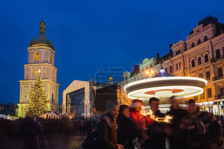 Christmas market in Kiev, Ukraine