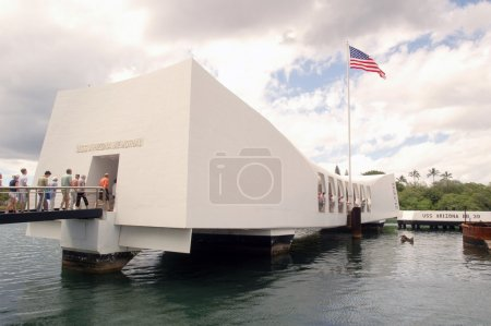 U.S.S. Arizona Memorial in Pearl Harbor