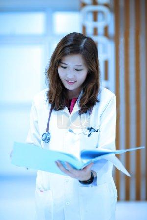 Young veterinarian at hospital