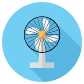 Household electric fan icon