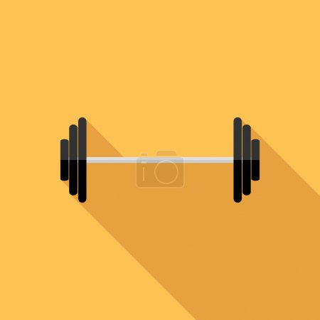 Barbell icon.