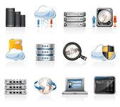 Web Hosting Icon Set