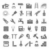 Black Icons - Home Repair