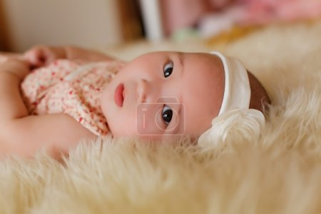 Photo for Beautiful cute baby girl - Royalty Free Image