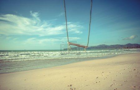 Foto de El vaivén de las olas del mar - Imagen libre de derechos