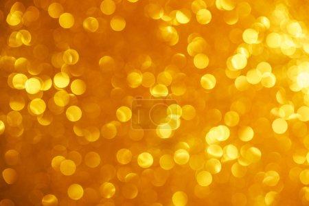 Foto de Antecedentes de oro brillo bokeh. Festivo y destellos - Imagen libre de derechos