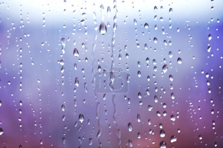 Water drops on the window