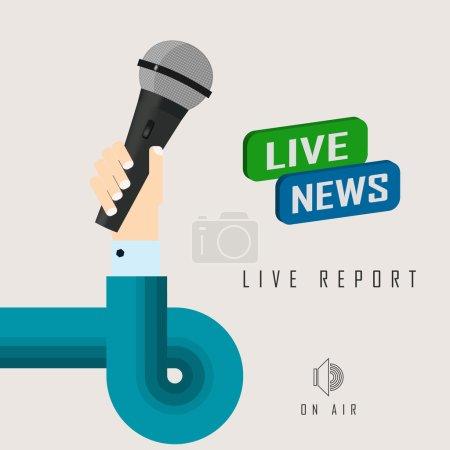 live news report