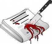 Murdered newspaper
