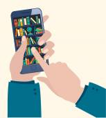 Online mobile library