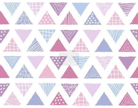 Seamless geometric background pattern