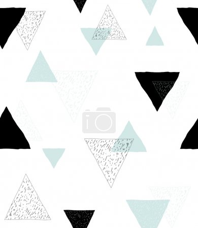 Seamless geometric background pattern