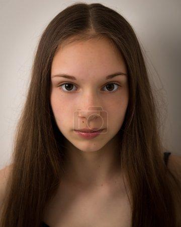 Beautiful Teenage Girl Face