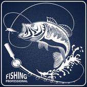 PEACH FISH ISOLATED BLUE 1