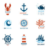 sea theme logo templates