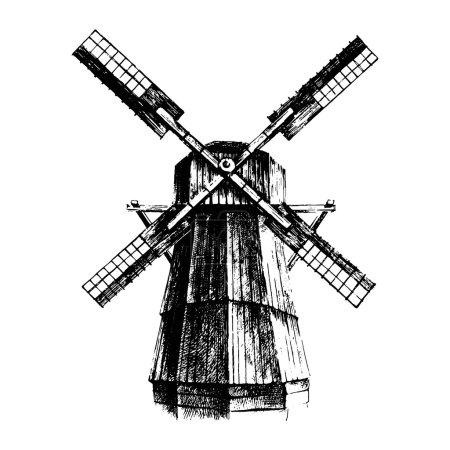 Hand drawn mill
