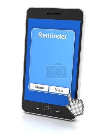 Smartphone reminder