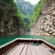 Sailing through the Small Three Gorges in Chongqin...