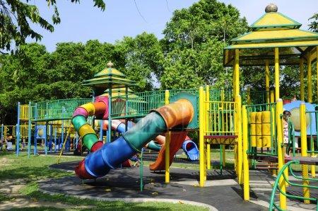 Children Playground At Taman Tengku Anis, Kelantan, Malaysia