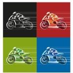 Постер, плакат: Motor racing