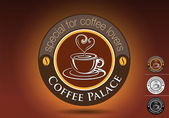 Coffee Palace Vector