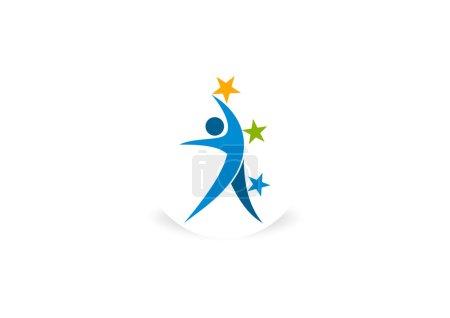 Star body wellness icon