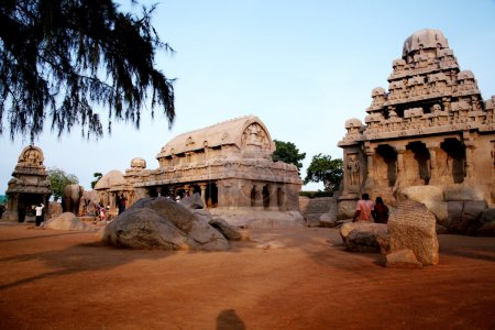 Pancharatha temples in Mammallapuram