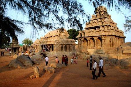 Pancha ratha temples