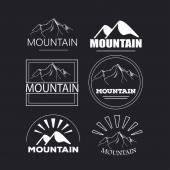 Znak logo horská s návrhem